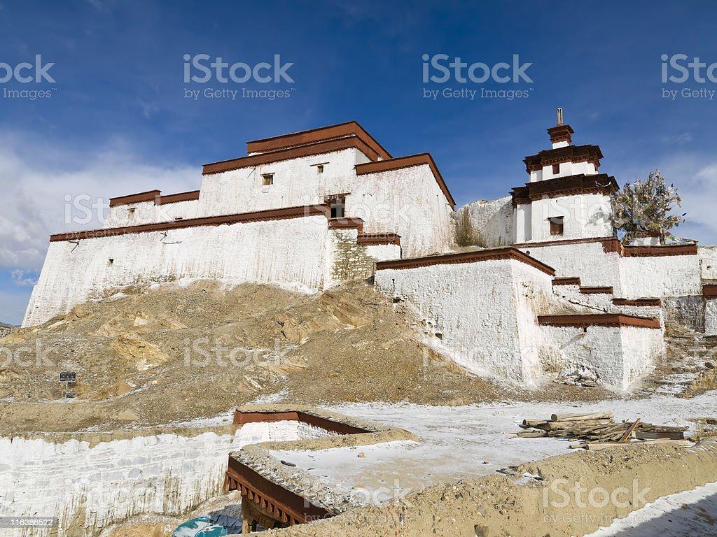 Gangze in Tibet royalty-free stock photo