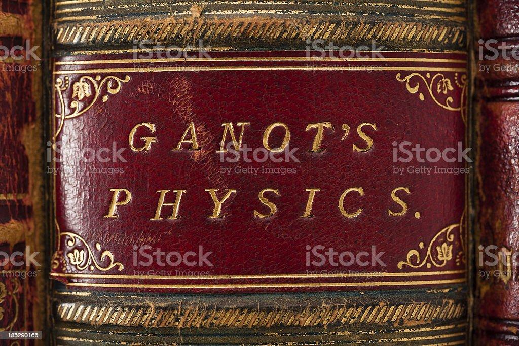 Ganot's Physics royalty-free stock photo