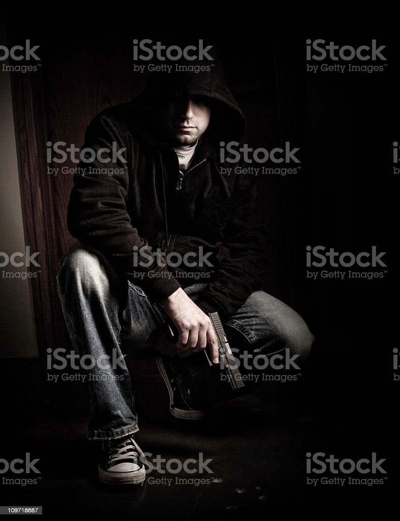 gansta royalty-free stock photo