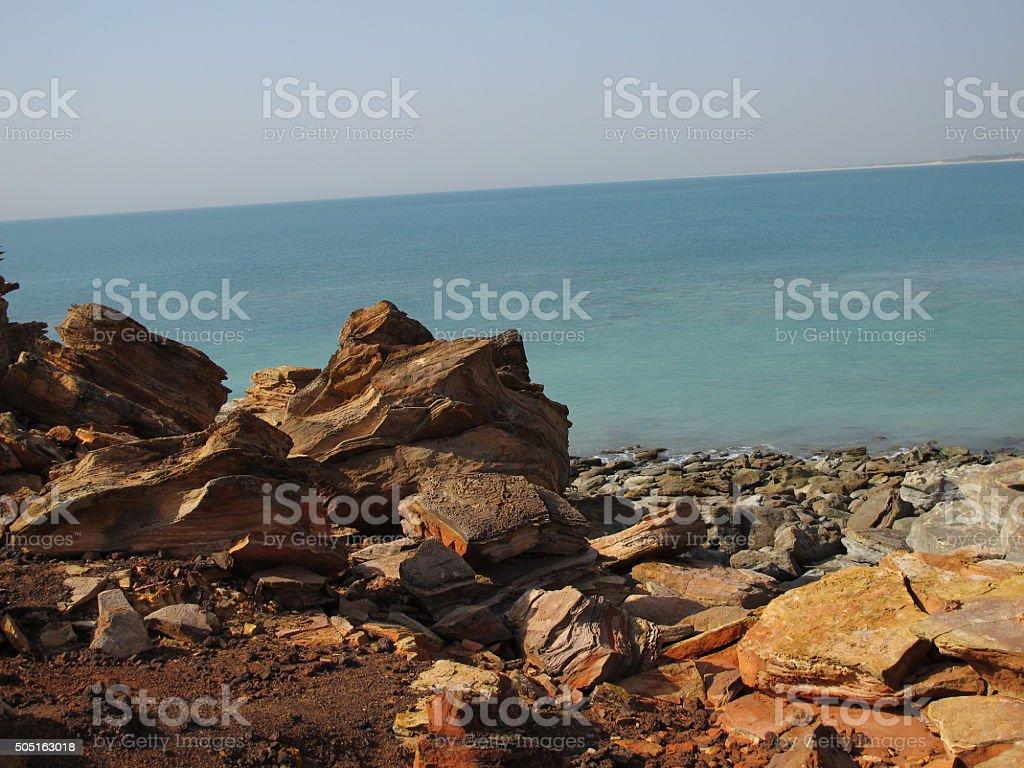 Gantheaume Point, Broome, Western Australia stock photo