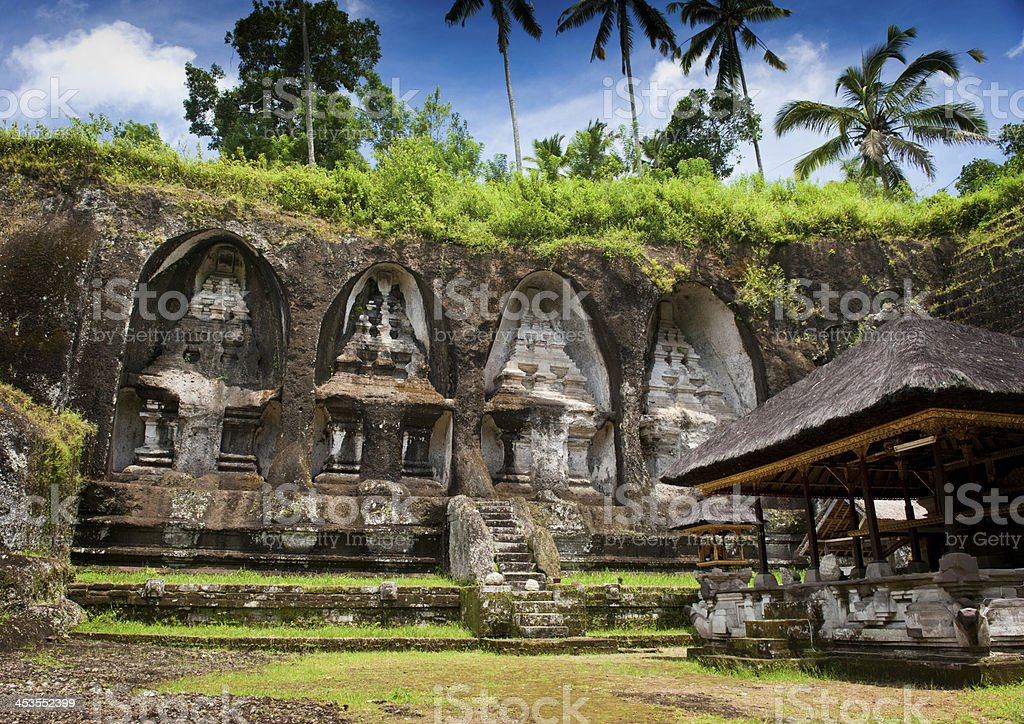 Ganung Kawi Temple. royalty-free stock photo