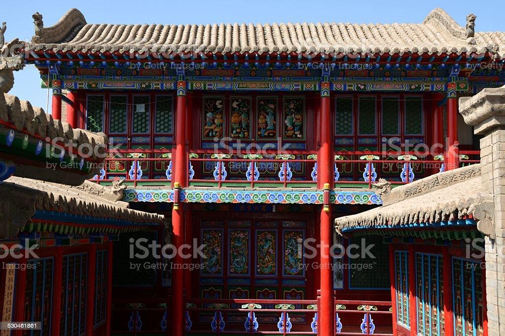 Gao Temple, Zhongwei - Ningxia stock photo