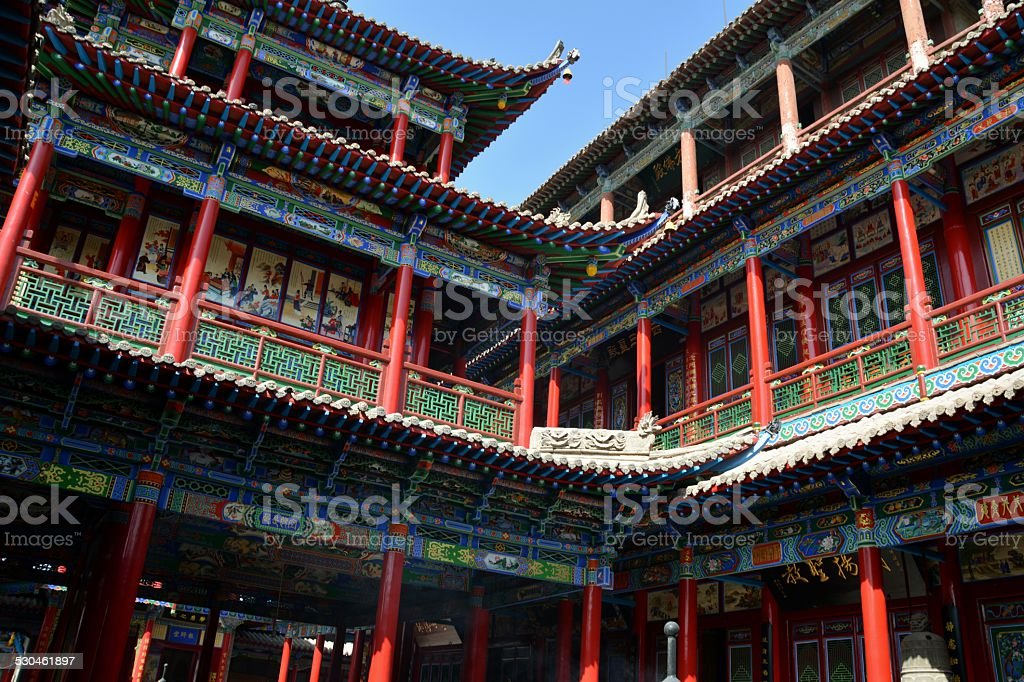 Gao Temple, Zhongwei - Ningxia stock photo
