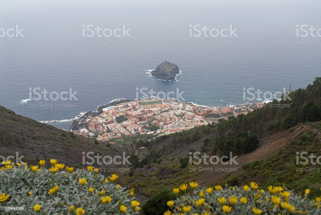 Garachico, Tenerife foto stock royalty-free