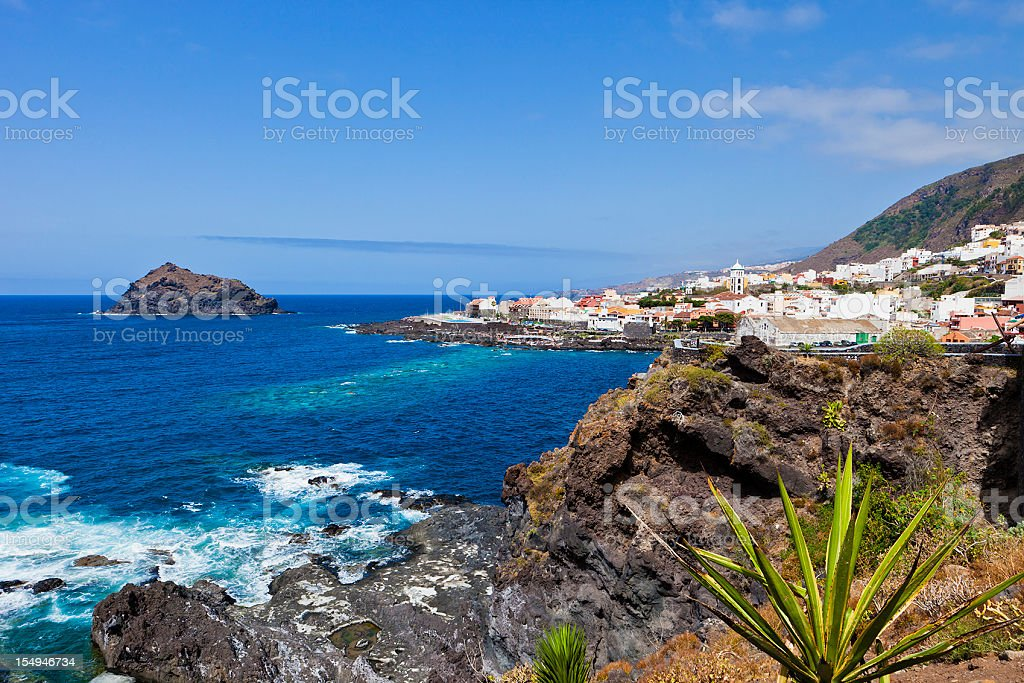 Garachico, Tenerife stock photo