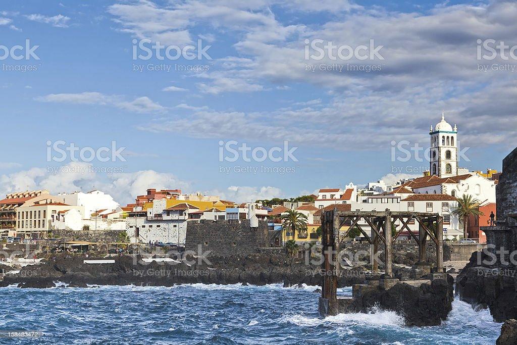 Garachico Village, Tenerife royalty-free stock photo