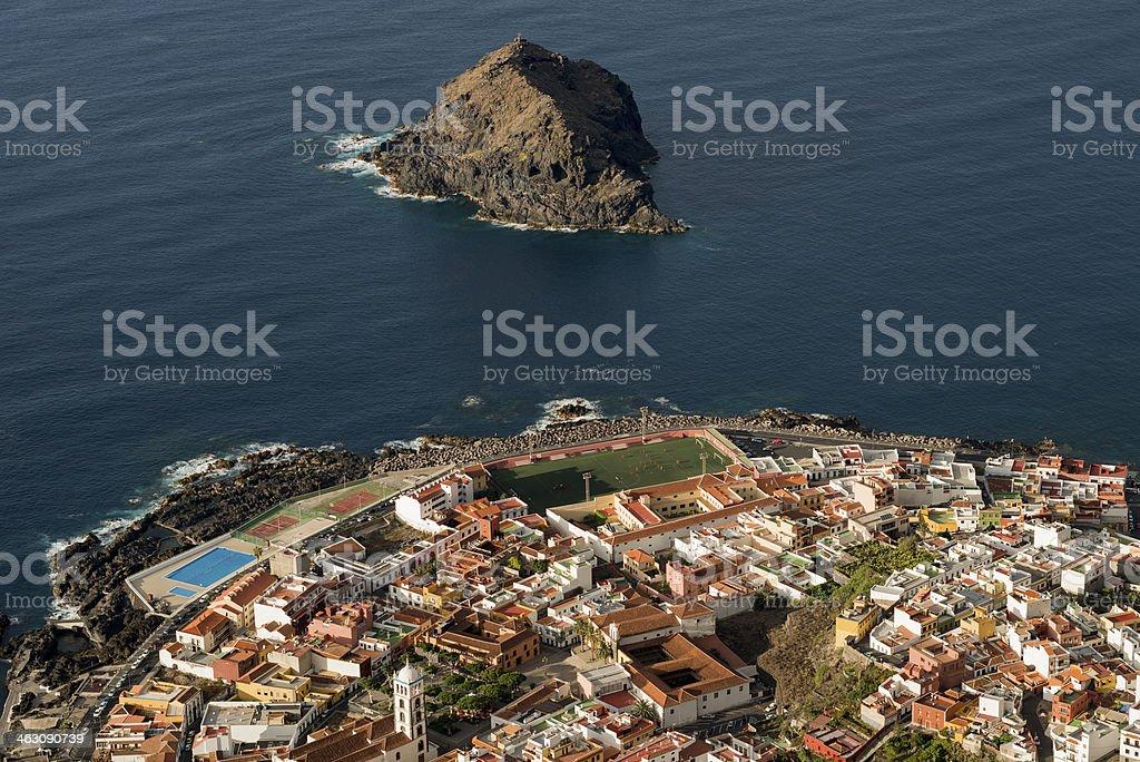 Garachico,Tenerife, Spain stock photo