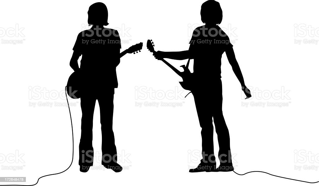 Garage Band royalty-free stock photo