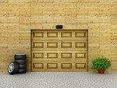 Garage concept.