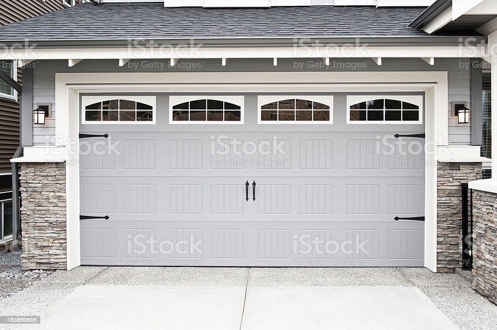 Garage Door royalty-free stock photo