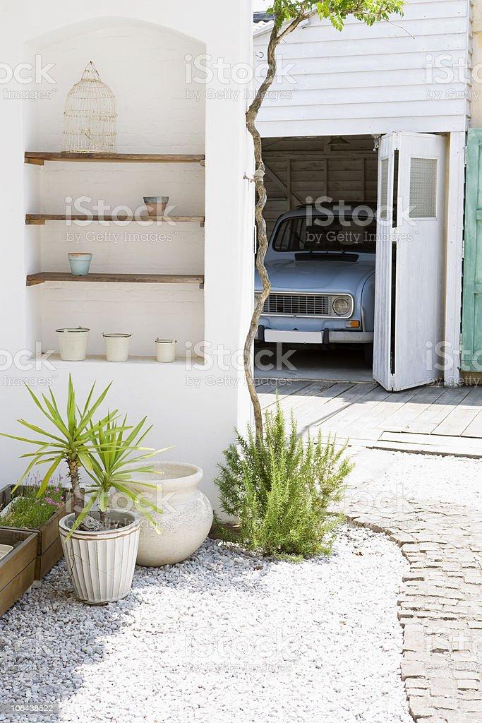 garage royalty-free stock photo