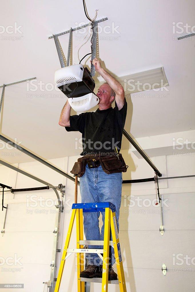 Garage Repairs stock photo