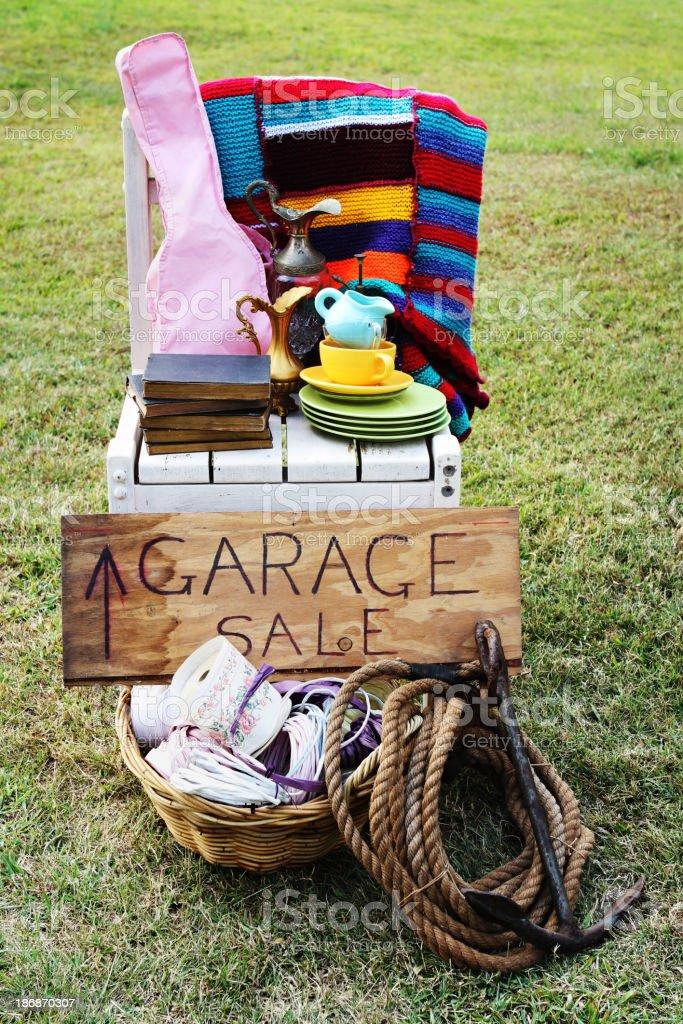Garage Sale. royalty-free stock photo