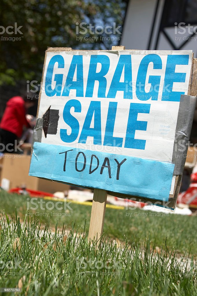 Garage Sale #2 royalty-free stock photo