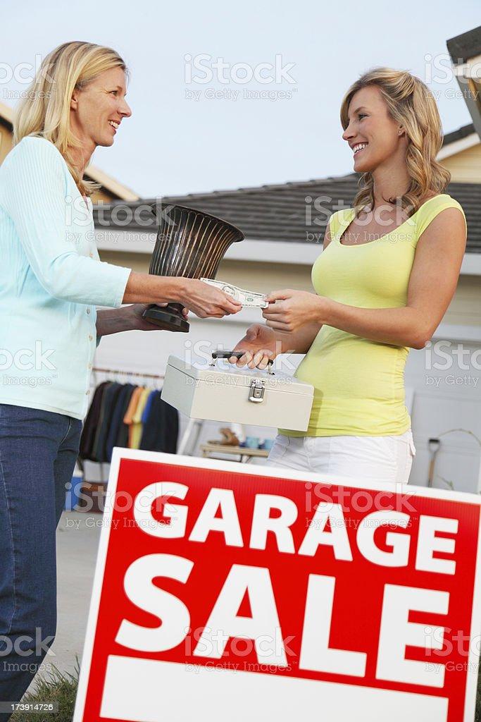 Garage Sale Treasure royalty-free stock photo