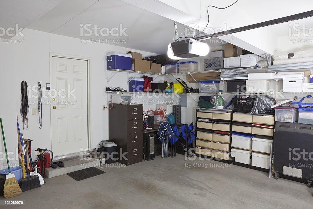 Garage Storage royalty-free stock photo