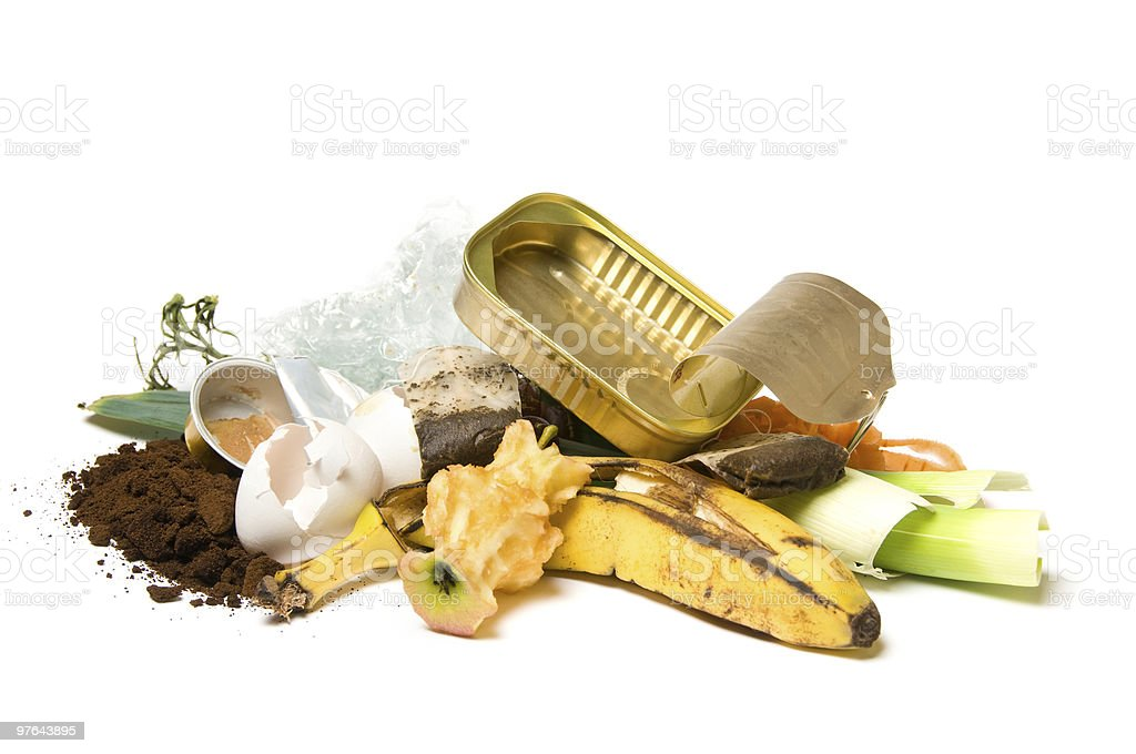 Garbage and trash stock photo
