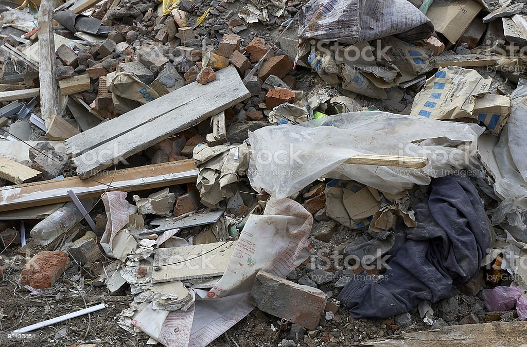 garbage background royalty-free stock photo