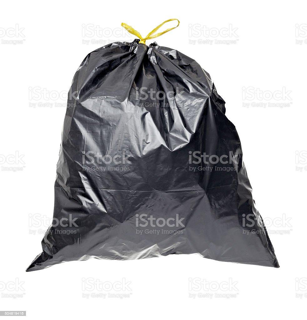 garbage bag trash waste stock photo
