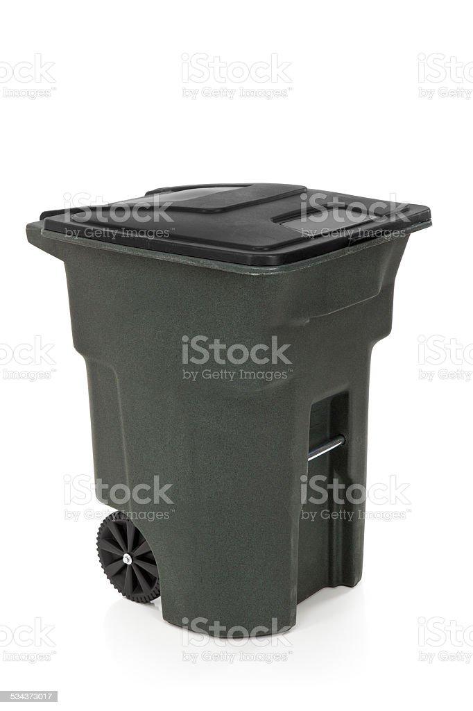 Garbage Bin Isolated stock photo