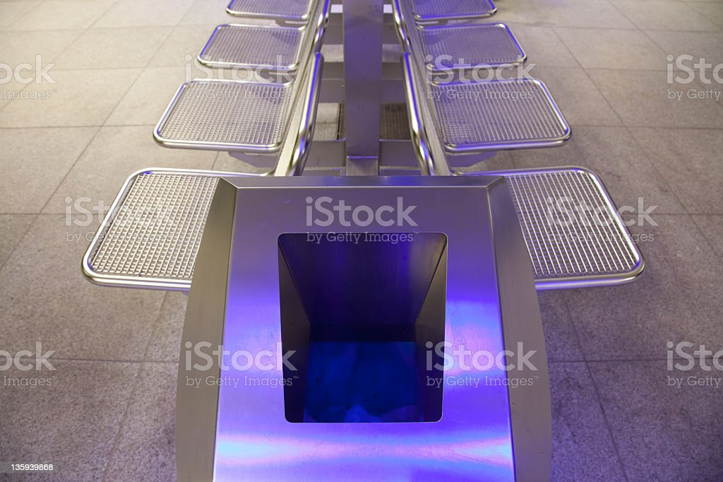 garbage can royalty-free stock photo