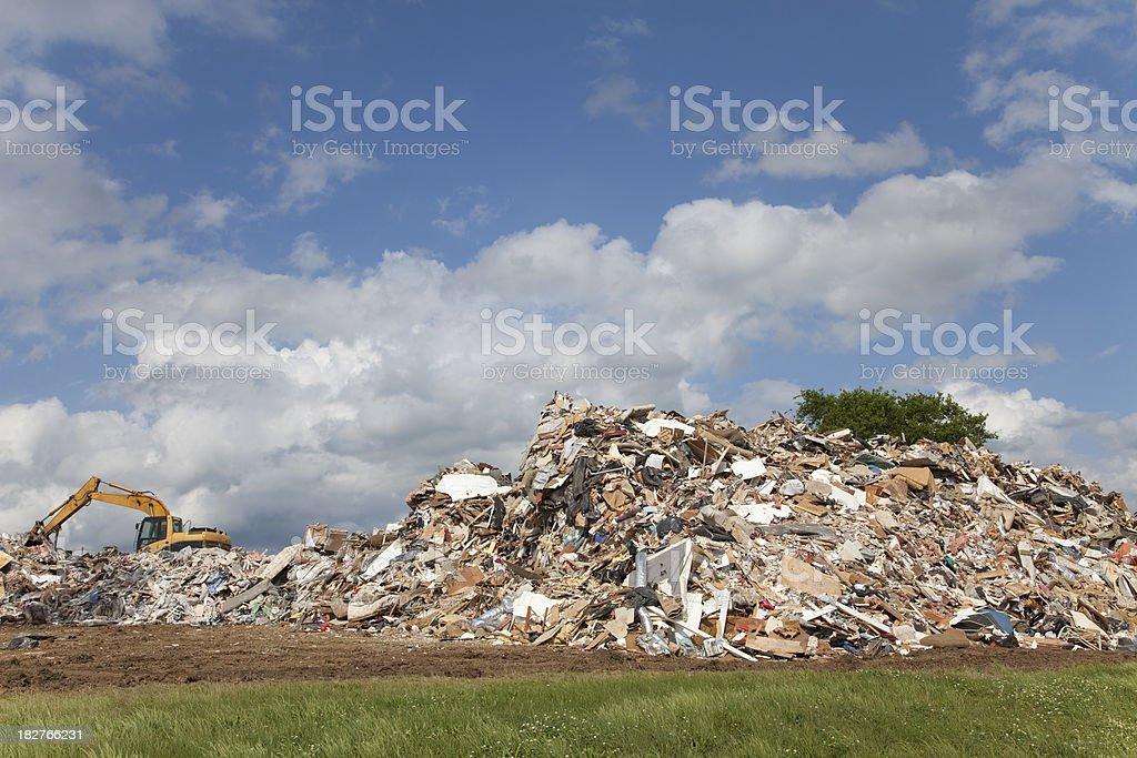 Garbage Dump royalty-free stock photo