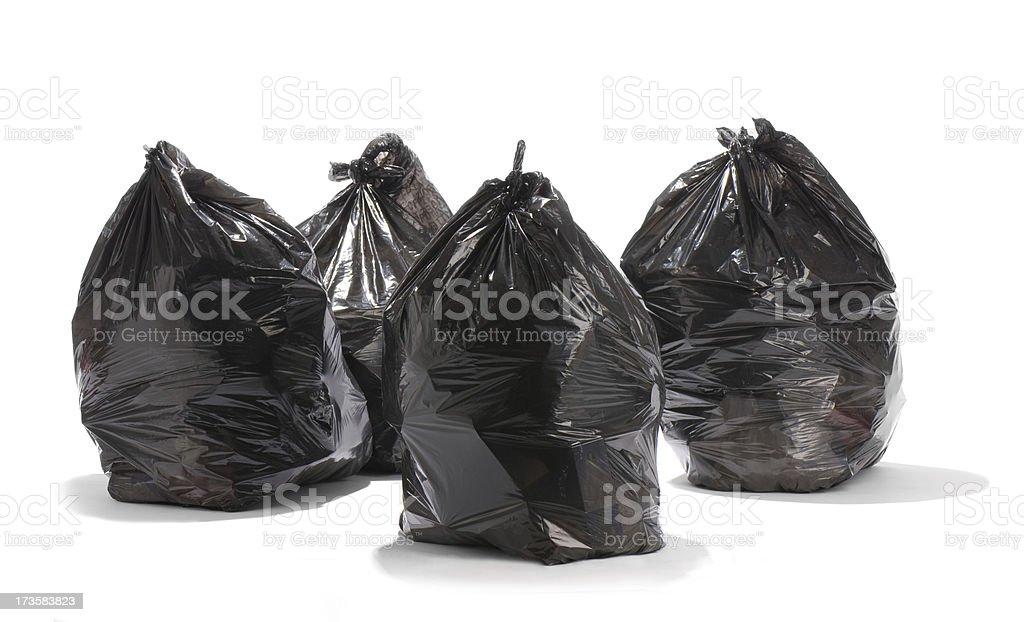garbage gang stock photo