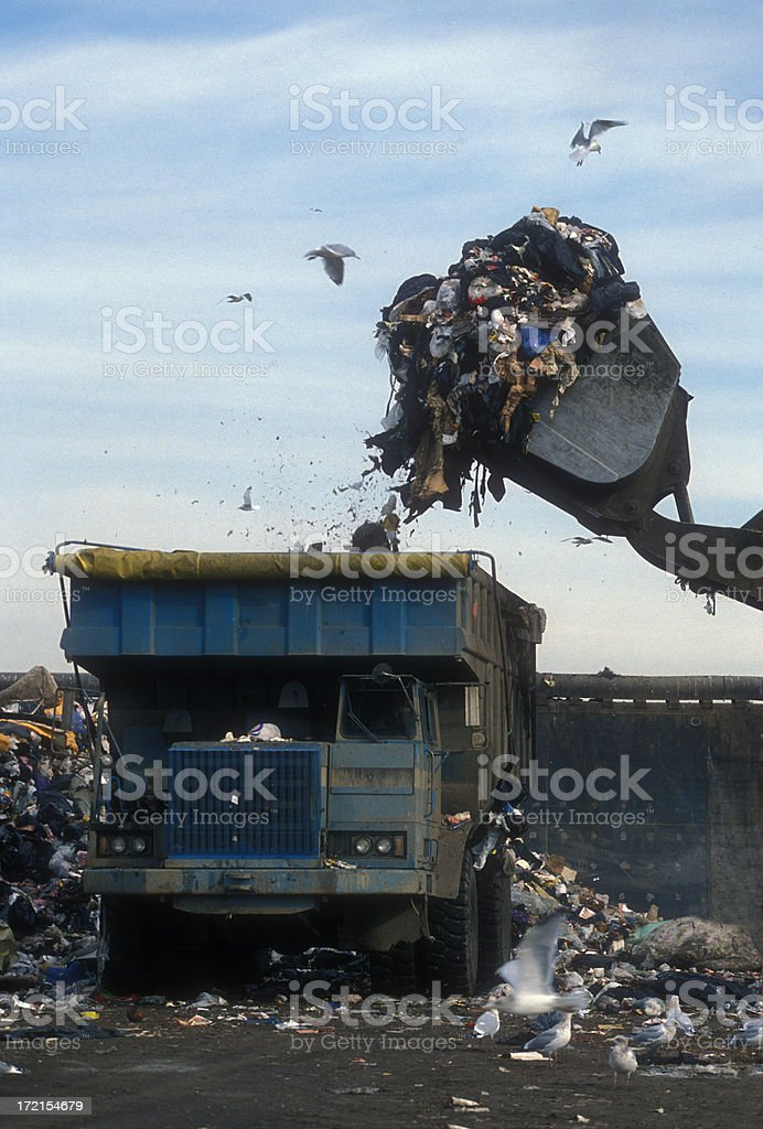 Garbage royalty-free stock photo