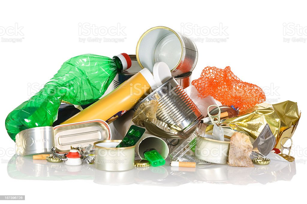 Garbage - Recycling royalty-free stock photo
