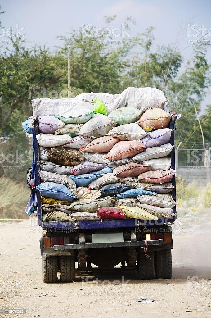 Garbage Truck royalty-free stock photo
