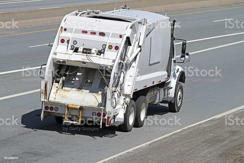 Garbage Truck stock photo