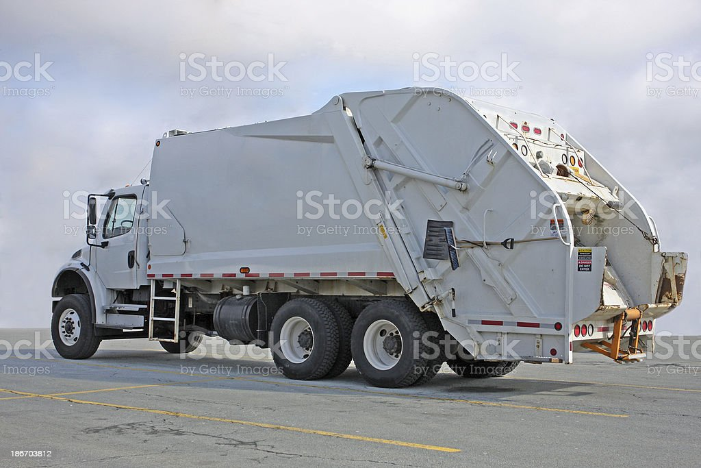Garbage Truck royalty-free stock photo