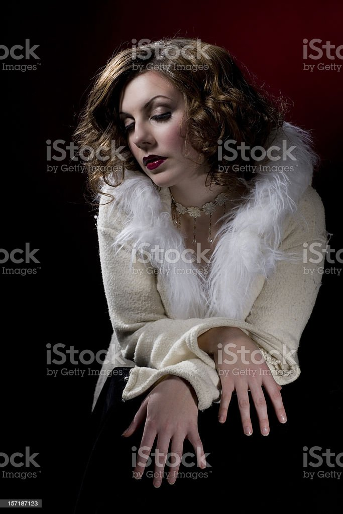 Garbo royalty-free stock photo