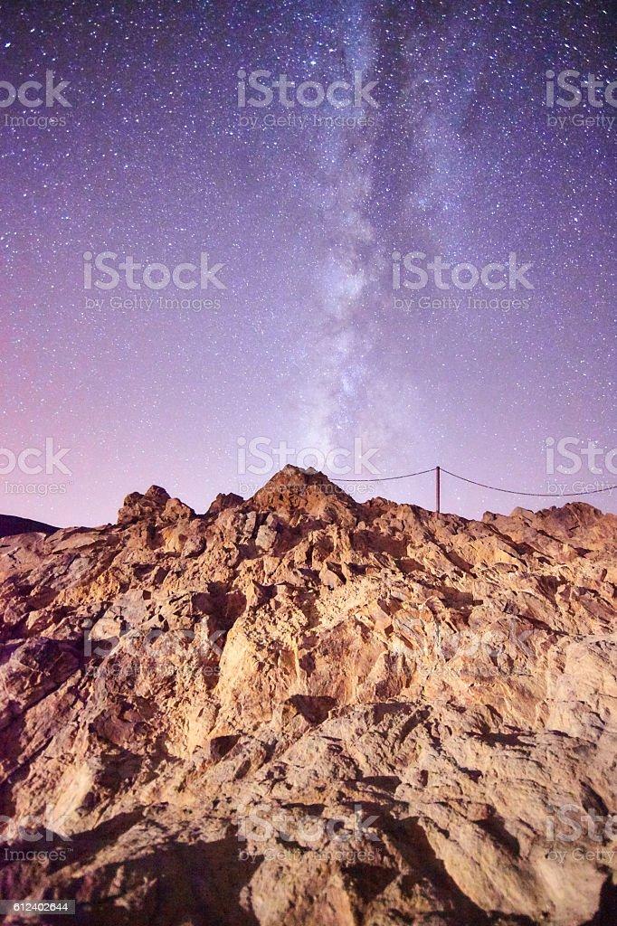 Garcias Rocks in Tenerife stock photo
