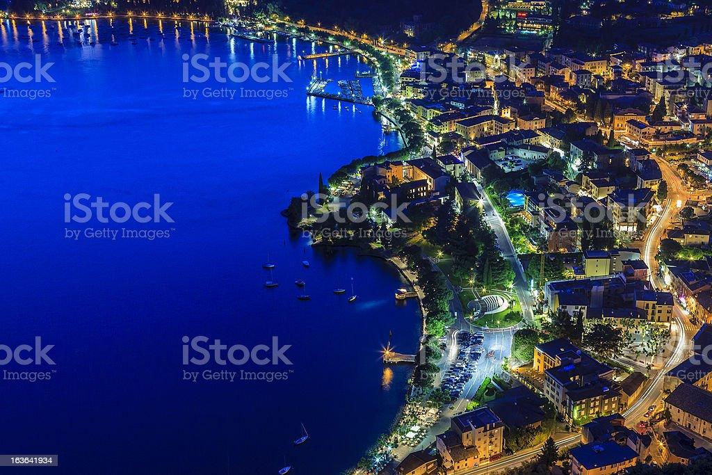 Garda From Above, Italy royalty-free stock photo