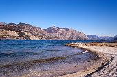 Garda Lake in Winter - Malcesine Italy
