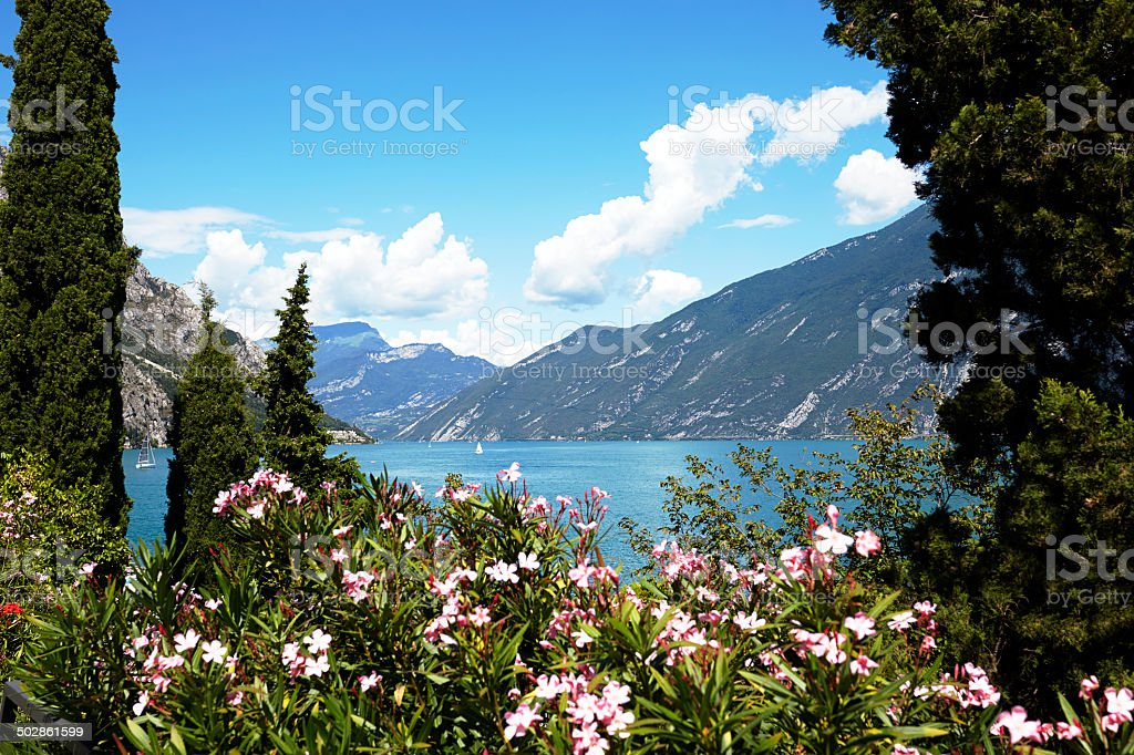 Garda Lake. stock photo