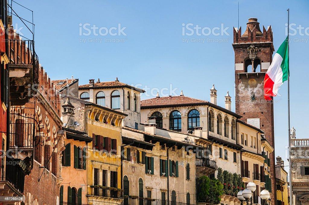 Gardello Tower -Verona stock photo