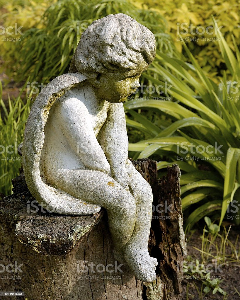 Garden Angel royalty-free stock photo