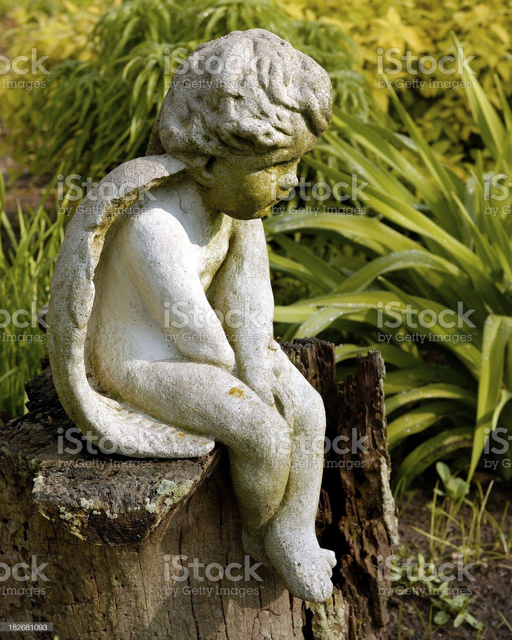 Garden Angel royalty-free stock photo