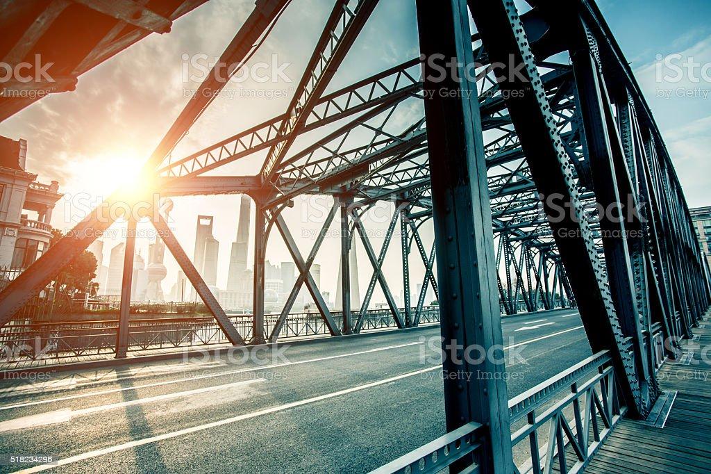 Garden Brücke von Shanghai – Foto