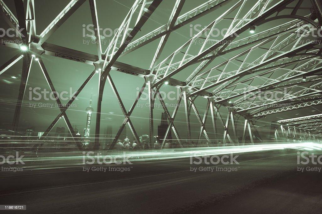 Garden Bridge royalty-free stock photo