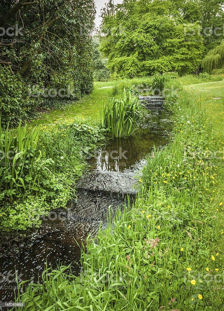 Garden Cascade royalty-free stock photo