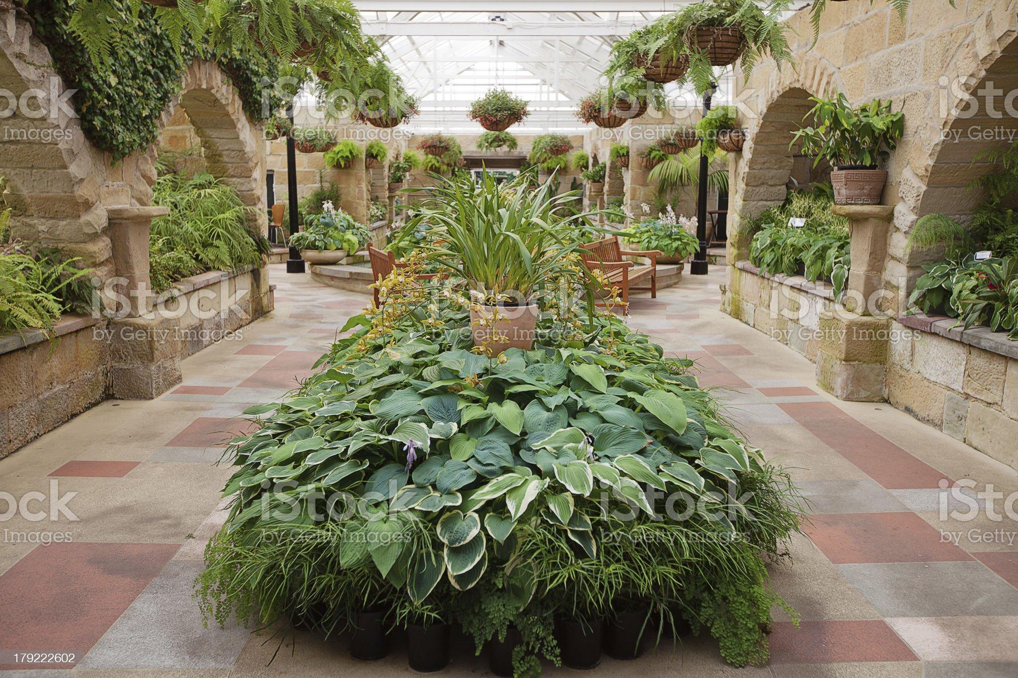 Garden Conservatory royalty-free stock photo