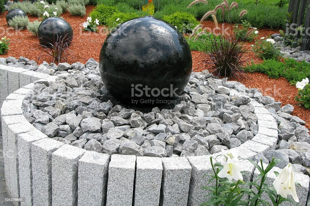 Garden creation royalty-free stock photo