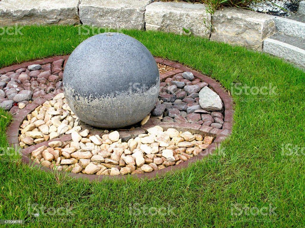 Garden creation stock photo