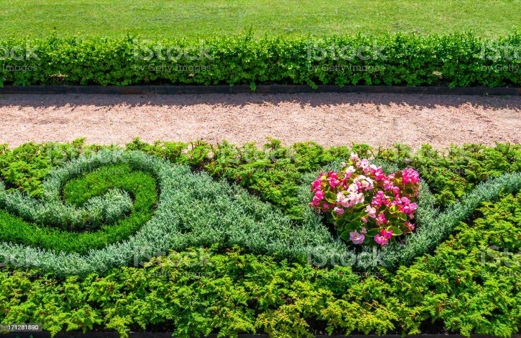 Garden design royalty-free stock photo