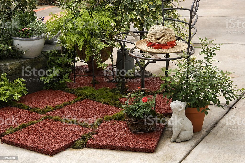 Garden Display royalty-free stock photo