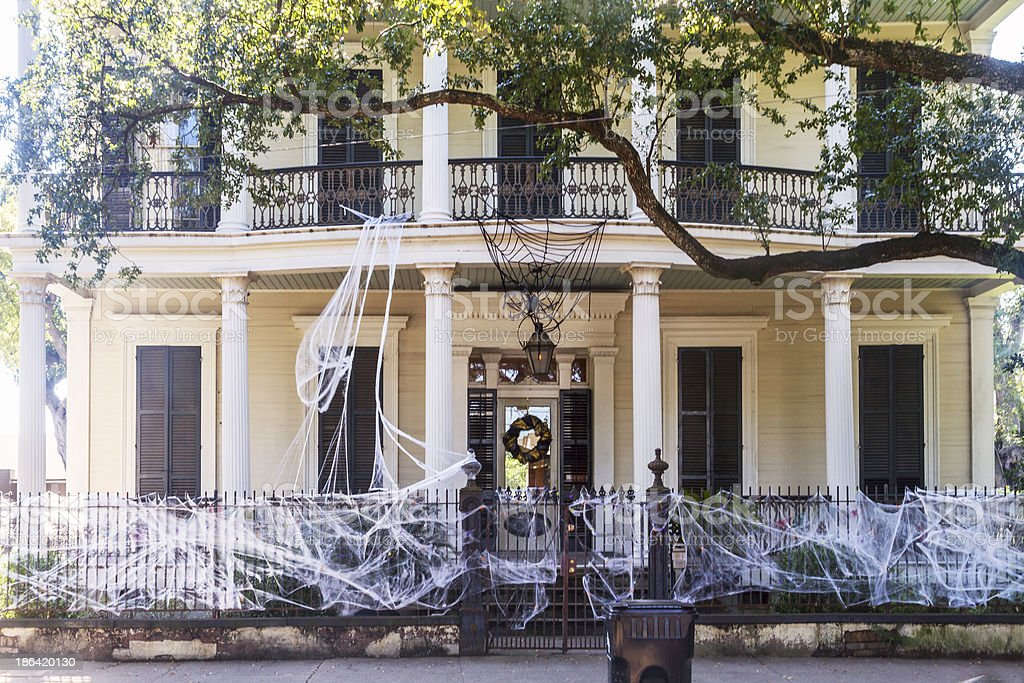 Garden district royalty-free stock photo