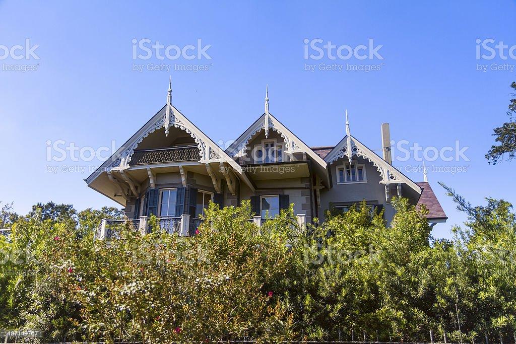 Garden district royalty-free stock photo